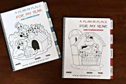 homeschool planner kindergartener