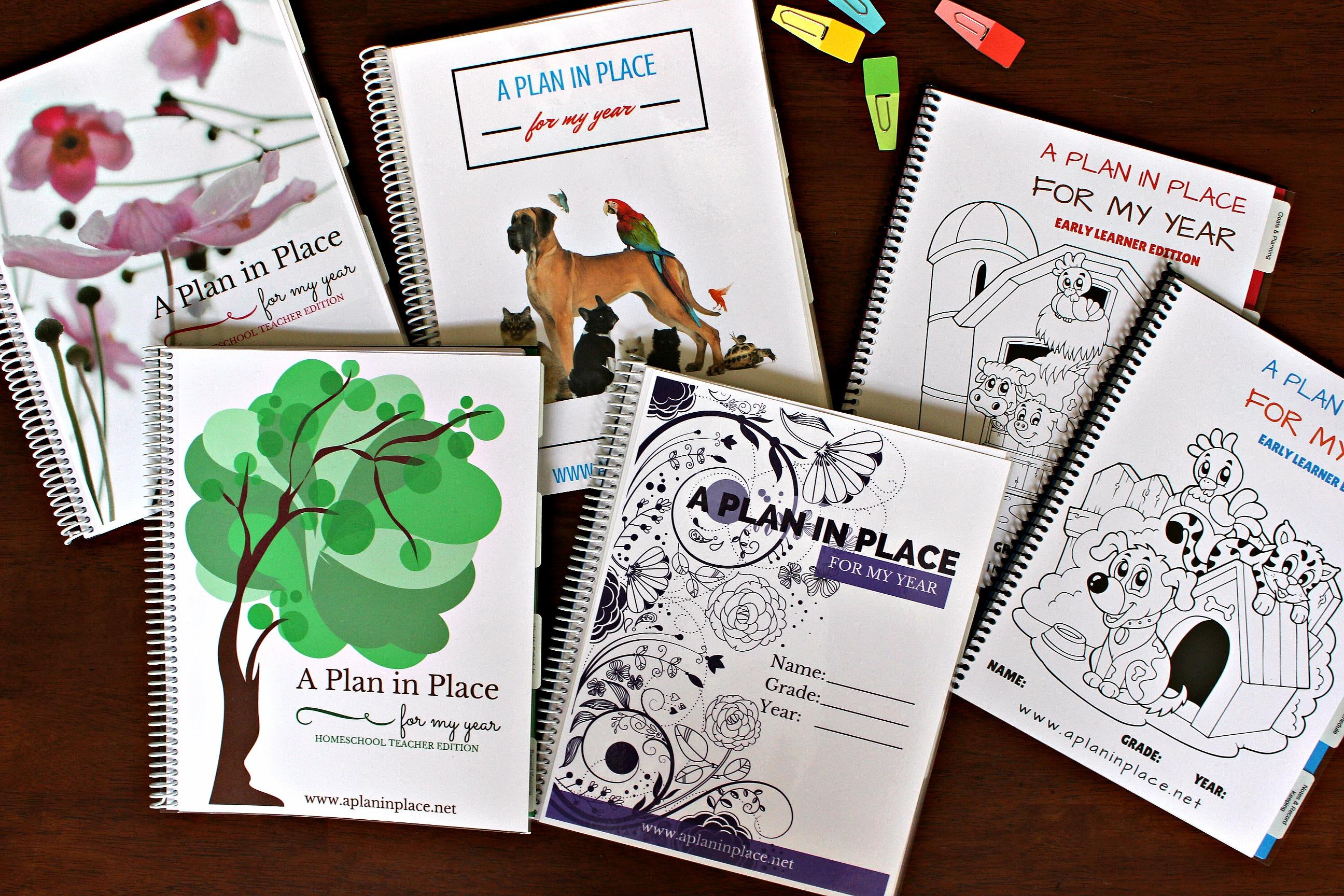 homeschool planner for busy moms